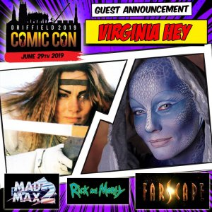 Driffield Guest Announcement: Virginia Hey