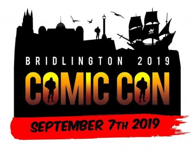 Brldington Comic Con 2019 Trader/Exhibitor Table