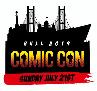 Hull Comic Con 2019 Trader/Exhibitor Table