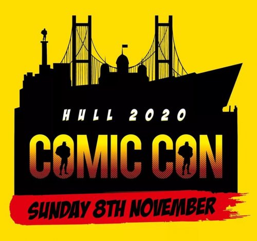 Hull Comic Con 2020 Trader/Exhibitor Table: 2 tables