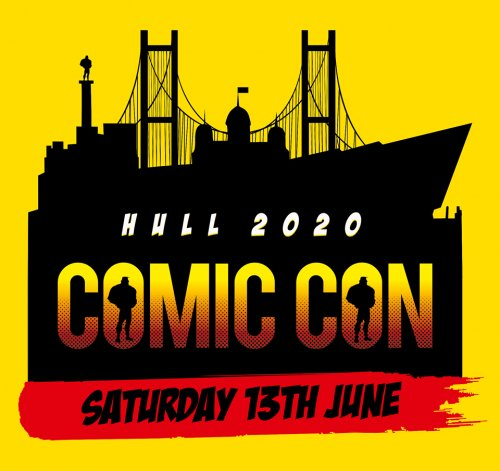 Hull Comic Con 2020 Trader/Exhibitor Table: 1 table