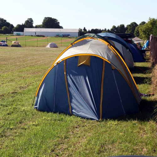 Driffield Comic Con 2019 Camping Pitch: Friday Night